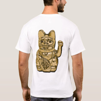Golden Maneki Neko T-Shirt