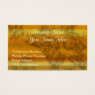 Golden Metallic-effect III Business Cards