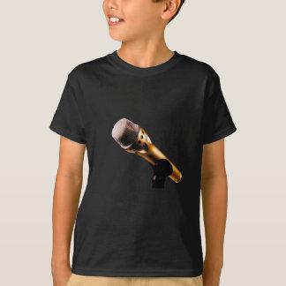 Golden Microphone T-Shirt