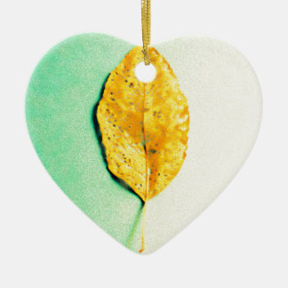 Golden Mint by JP Choate Ceramic Ornament