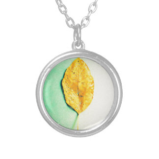 Golden Mint by JP Choate Silver Plated Necklace