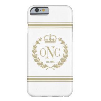 Golden Monogrammed Logo iPhone 6 Case