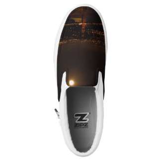 Golden Moon over Frisco Slip-On Shoes