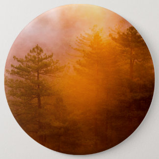 Golden Morning Glory Forest 6 Cm Round Badge