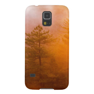 Golden Morning Glory Forest Cases For Galaxy S5