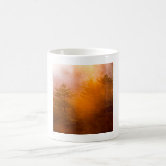 Golden Morning Glory Forest Coffee Mug