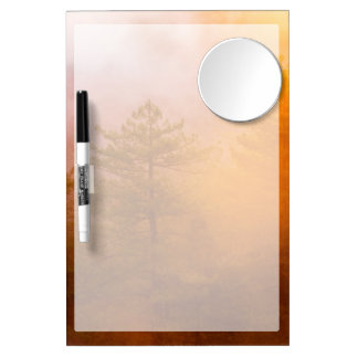Golden Morning Glory Forest Dry Erase Boards