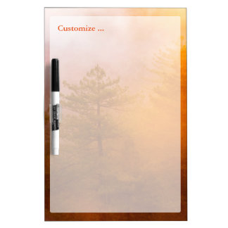 Golden Morning Glory Forest Dry-Erase Boards