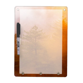 Golden Morning Glory Forest Dry Erase White Board