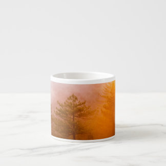 Golden Morning Glory Forest Espresso Cup