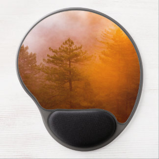 Golden Morning Glory Forest Gel Mouse Pad