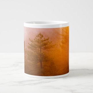Golden Morning Glory Forest Giant Coffee Mug