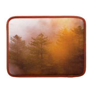 Golden Morning Glory Forest MacBook Sleeve
