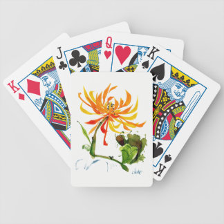 Golden Mum Bicycle® Poker Playing Cards