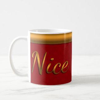 Golden Nice Snowflake Coffee Mug