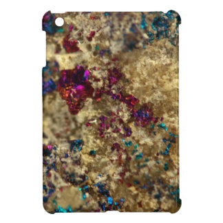 Golden Oil Slick Quartz iPad Mini Cover