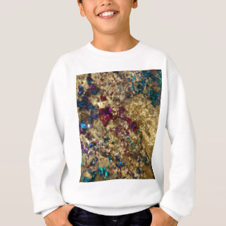 Golden Oil Slick Quartz Sweatshirt