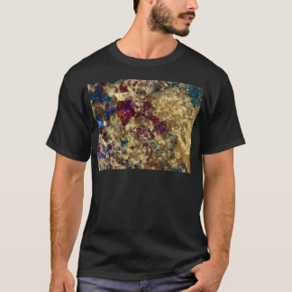 Golden Oil Slick Quartz T-Shirt
