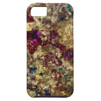 Golden Oil Slick Quartz Tough iPhone 5 Case