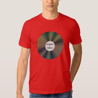 Golden Oldie Old Rocker Music Lover T Shirt
