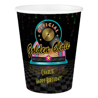 Golden Oldie Party Cup