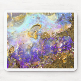 Golden Opal Mouse Pad