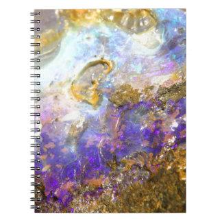 Golden Opal Notebook
