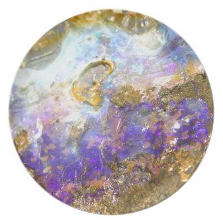 Golden Opal Plate