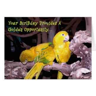 Golden Opportunity Card