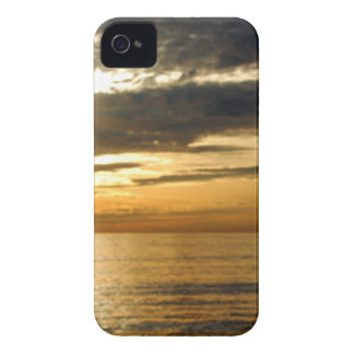 golden pacific sunset iPhone 4 cover