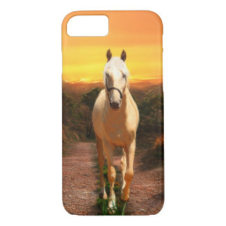 Golden palomino at sunset iPhone 8/7 case