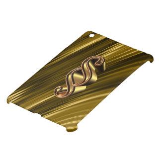 Golden paragraph symbol iPad mini covers