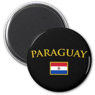 Golden Paraguay Magnet