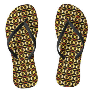 Golden Pattern Flip Flops