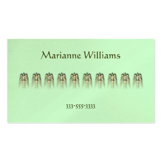 Golden Peace Doves Mommy Card Pack Of Standard Business Cards