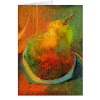 Golden Pear • Michelle Abrams - card