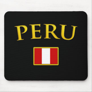 Golden Peru Mouse Pad