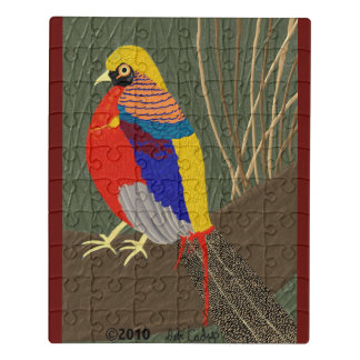 Golden Pheasant Jigsaw Puzzle