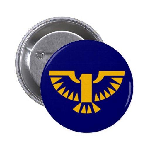 Golden Phoenix Button