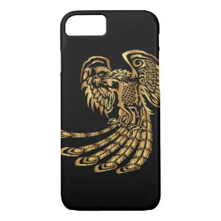Golden Phoenix Rising iPhone 8/7 Case