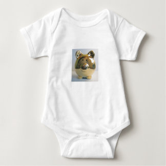 Golden pig   baby bodysuit