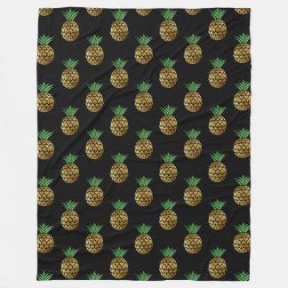 Golden Pineapple Blanket
