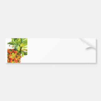 Golden Pineapple (Kimberly Turnbull Art) Bumper Sticker