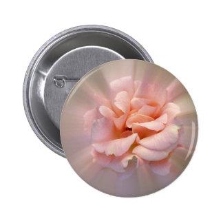 Golden pink 6 cm round badge