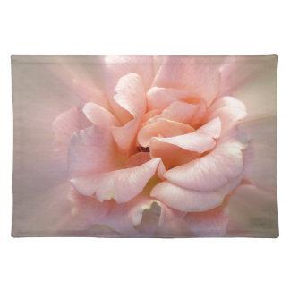 Golden pink placemat