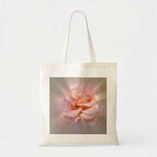 Golden pink tote bag