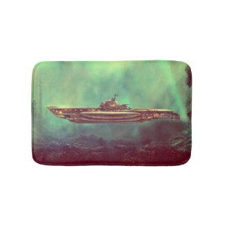 Golden Pirate Submarine Bath Mats