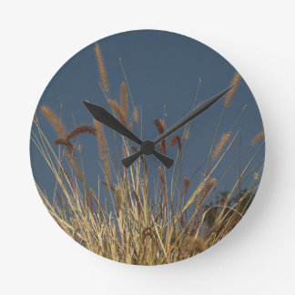 Golden Plant on Dark Sky Clock