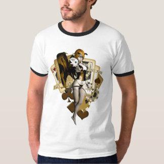 Golden Poker Girl 2 Shirts