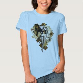 Golden Poker Girl 2 Tee Shirts